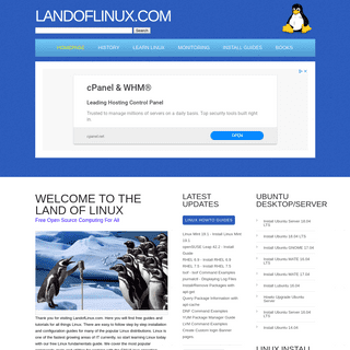 Linux Guides, Tutorials and Howtos - LandofLinux.com