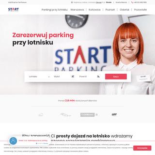 START Parking - parkingi przy lotniskach z transportem na terminal