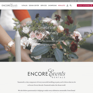 ArchiveBay.com - encoreeventsrentals.com - Home - Encore Events Rentals - Encore Events Rentals