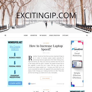 excITingIP.com – IT, Networking, Mobile, Camera, Gadgets… Everything that Excites Techies -)