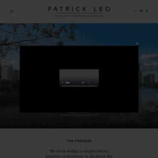 Home -- Patrick Leo