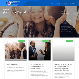index • CONAPFAM - Coordinadora Nacional Pro Familia