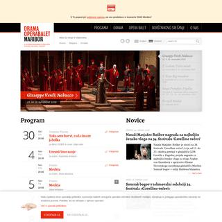 Dobrodošli! - Slovensko narodno gledališče Maribor