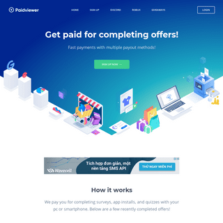 PaidViewer - Complete Offers for Instant Payouts!