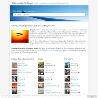ArchiveBay.com - flug-nach.net - Günstige Flüge buchen nach Deutschland, Europa und in die Welt