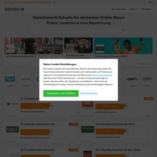 Gutscheine & Rabatte für die besten Online-Shops