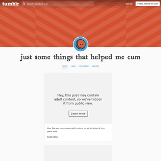 ArchiveBay.com - helped-me-cum.tumblr.com - just some things that helped me cum