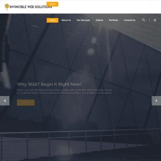 Invincible Web Solutions – Be Digital