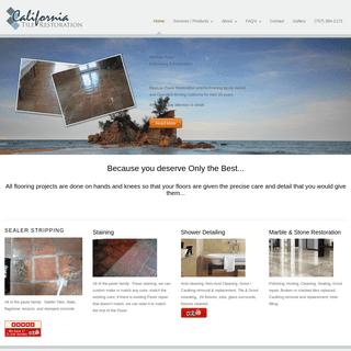 ArchiveBay.com - californiatilerestoration.com - California Tile Refinishers - Mexican Paver Restoration
