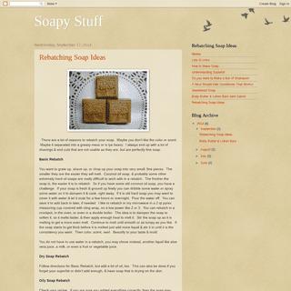 Soapy Stuff