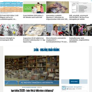 ArchiveBay.com - 24ora.eu - 24 óra! - Friss hírek, családi pénzügyek -