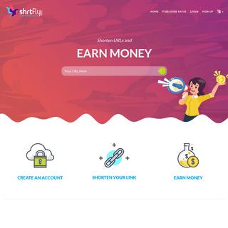 ShrtFly - Best URL Shortener 2019