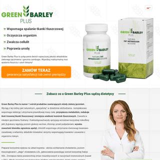 ArchiveBay.com - greenbarleyplus.pl - Green Barley Plus - Skuteczny Spalacz Tłuszczu Zawierający Wyciąg z Zielonego Jęczmienia