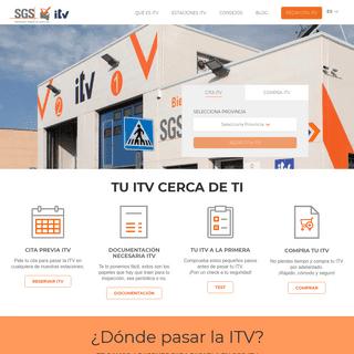 ArchiveBay.com - serviciositv.es - Servicios ITV SGS, estaciones y centros oficiales para la Inspección Técnica Vehículos