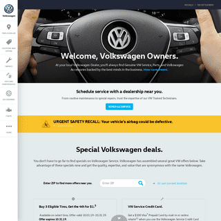 Official Volkswagen Owners Resource - Genuine VW Service and Parts