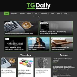 Home - TGDaily