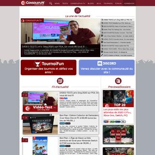 CONSOLEFUN.FR - le site de jeux vidéo - News, Tests...