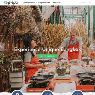 Expique Bangkok- Food Tours, Night Tuk Tuk Tours, Unique Experiences...