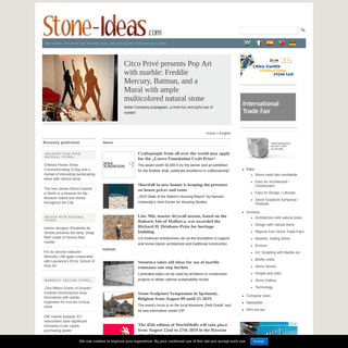 Stone-ideas.com - The global online magazine for natural stone