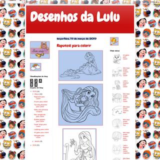 Desenhos da Lulu