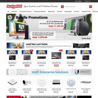 BudgetPC Mt Waverley -Brand New, Refurbished and Used Desktop, Notebooks, Custom Built PC, Computer Parts