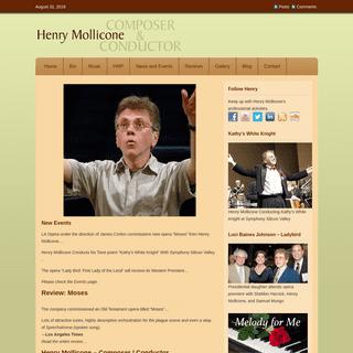 ArchiveBay.com - henrymollicone.com - Contemporary American classical composer - Opera - Songs - Piano