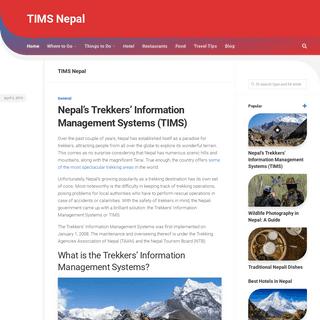 ArchiveBay.com - timsnepal.com - TIMS Nepal -