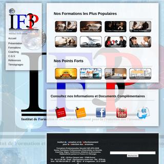 ArchiveBay.com - if3p.org - Institut de formation et de perfectionnement pour la protection des personnes, Formations de Formateurs en Pédagogie, Formation