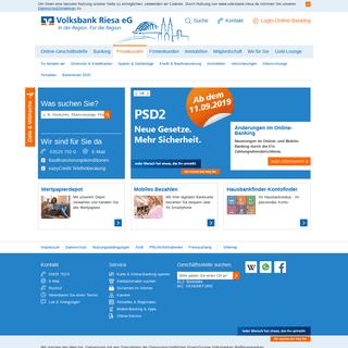 ArchiveBay.com - volksbank-riesa.de - Volksbank Riesa eG Privatkunden
