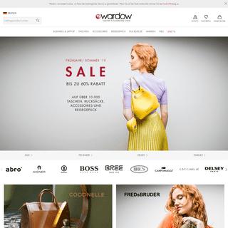 Taschen, Handtaschen, Aktentaschen & Koffer online kaufen - wardow.com