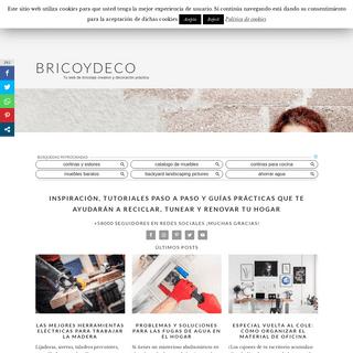 Bricoydeco Mujermanitas - Bricolaje creativo y decoración práctica