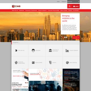 ArchiveBay.com - cimb.com - CIMB Group - Banking, Finance, Loans, Securities, Businesses