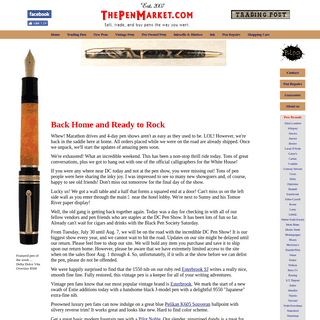 The Pen Market - ThePenMarket.com- Sell, Trade, and Buy Modern and Vintage Pens, Inkwells, Gift Items, Ephemera
