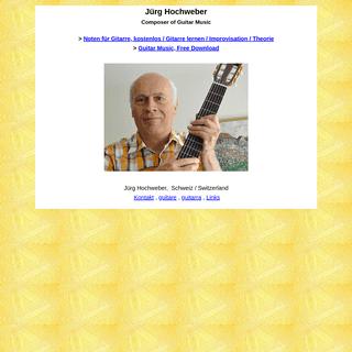 Guitar Hochweber