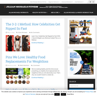 Jillian Michaels - Lose Weight With The Best 30-Minute Home Fitness Program