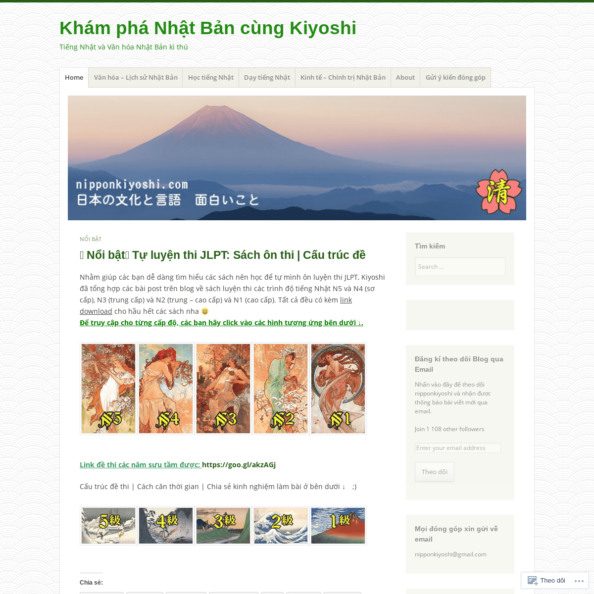 Khám phá Nhật Bản cùng Kiyoshi – Tiếng Nhật và Văn hóa Nhật Bản kì thú