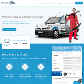 WindshieldHUB - Instant Auto Glass Quotes - Windshield Replacement & Repair
