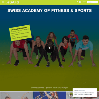 SAFS -- Swiss Academy of Fitness and Sports