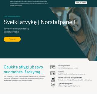 Norstatpanel -