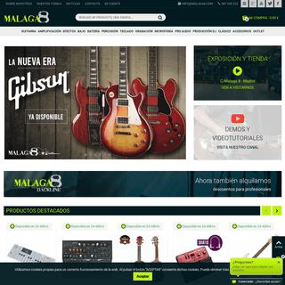 Instrumentos musicales Malaga8 - Malaga8