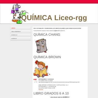 QUÍMICA CHANG - Página web de liceoquimica-rgg