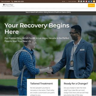 ArchiveBay.com - deserthopetreatment.com - Las Vegas Addiction Treatment Center - Desert Hope