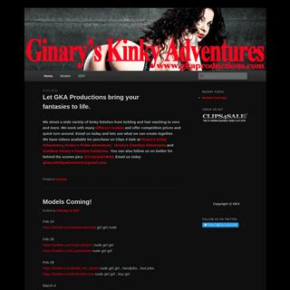 Ginarys Kinky Adventures - Fetish Porn, Foot Fetish, Lesbian, Nude, Tickle Fetish