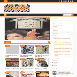 Famous Urdu Novels - Umera Ahmed Novels - Romantic Urdu Novels - read online urdu novels