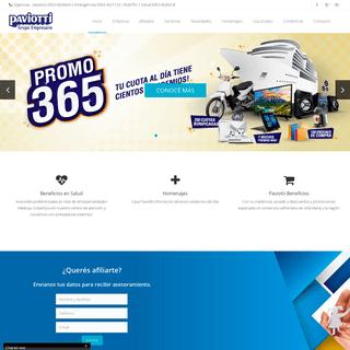 ArchiveBay.com - paviotti.com.ar - Grupo Empresario Paviotti - Home