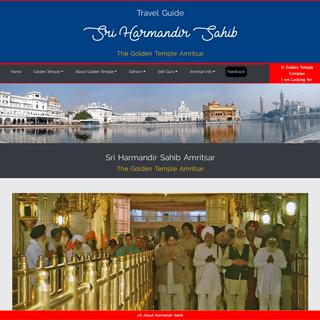 Golden Temple, Amritsar, Sri Harmandir Sahib, Darbar Sahib, Hari Mandir, Sikhism, Famous Temples of India, Ancient Temples of In
