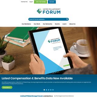United Philanthropy Forum -