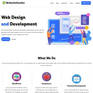 Website Guider - Guider of Beginners