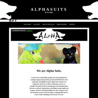 Alpha Suits