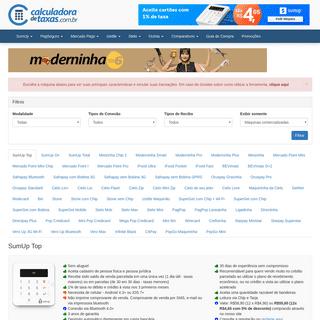 ArchiveBay.com - calculadoradetaxas.com.br - Calculadora de Taxas de Máquinas de Cartão